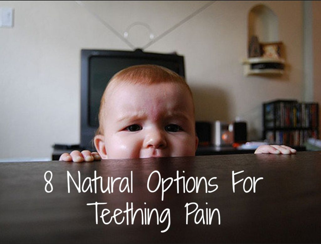 Teething Pain: 8 Natural, Soothing Options