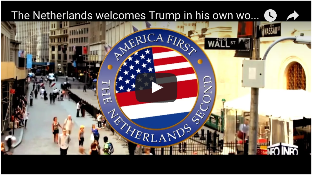 People Are Loving This Viral Video From the Netherlands to Trump