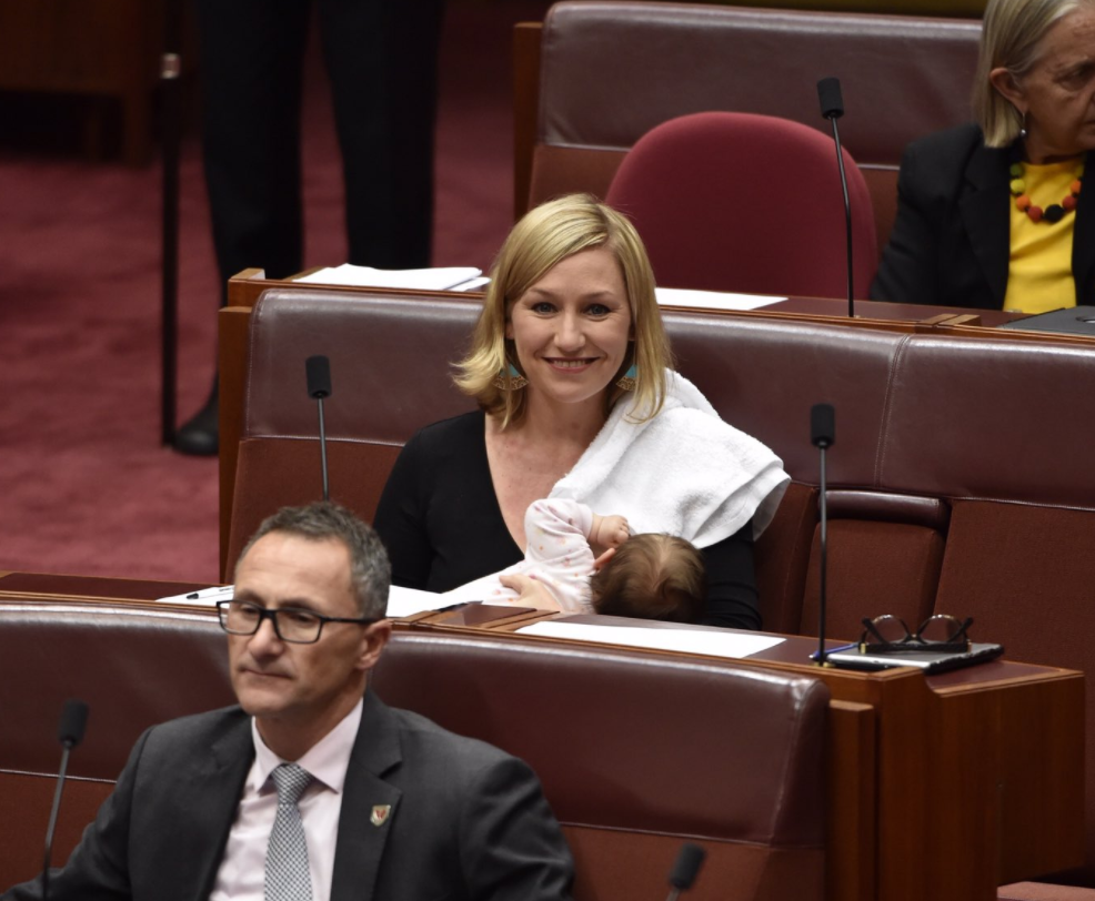 Senator Makes History By Breastfeeding Her Baby In Parliament