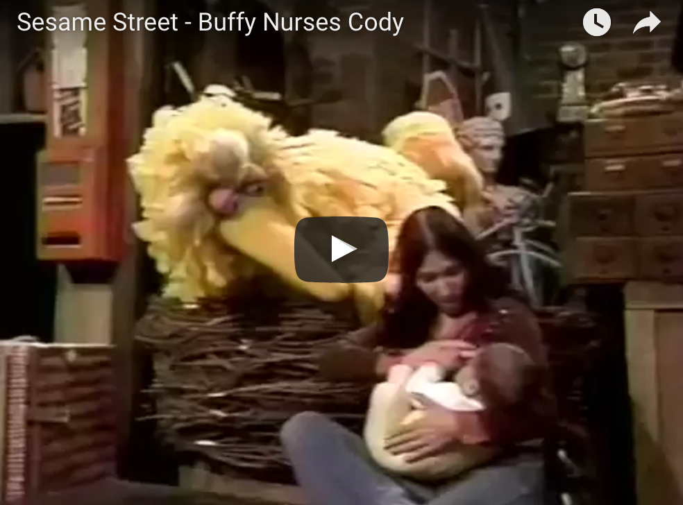 Remember That Time Sesame Street Showed Breastfeeding?